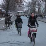 Street scene in Sariwon