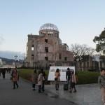 Le dome de la bombe A, seule structure survivante à ce jour