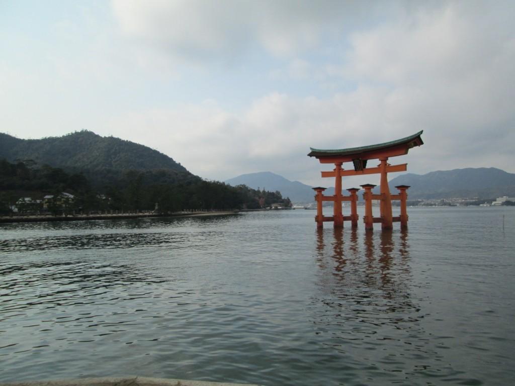 La porte Shinto de Miyajima