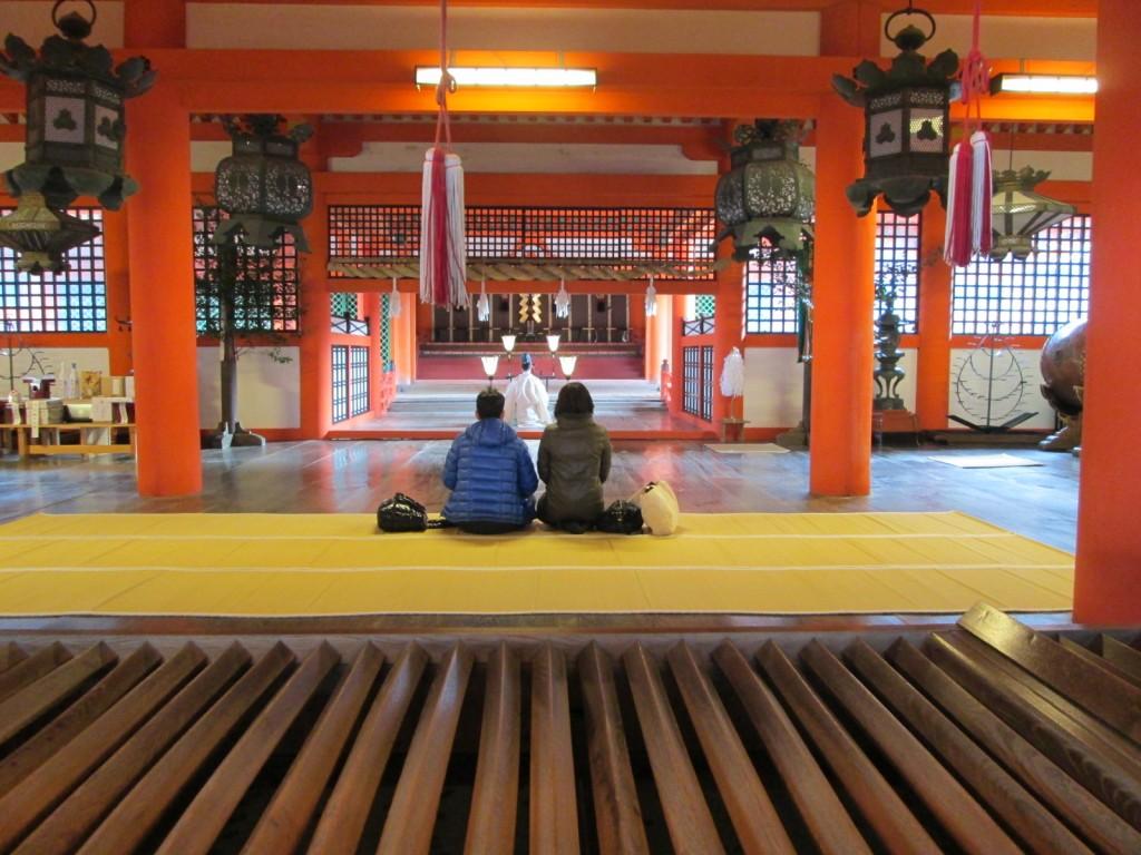 Le temple principal de Miyajima