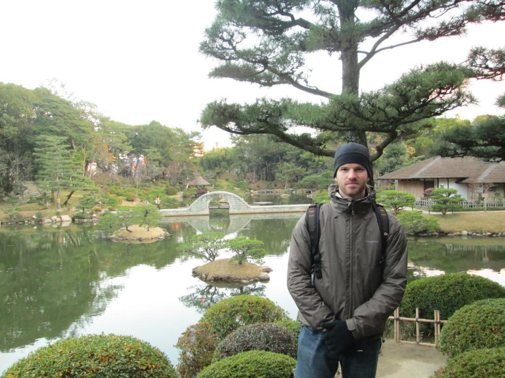Dans un jardin japonais