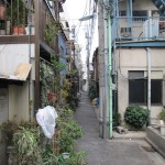 Une ruelle de Tokyo