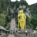 The steps to the Batu caves