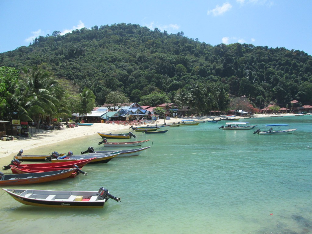 View of coral bay at Pulau Perhentian Kecil