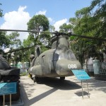 Un Chinook, butin de guerre Vietnamien