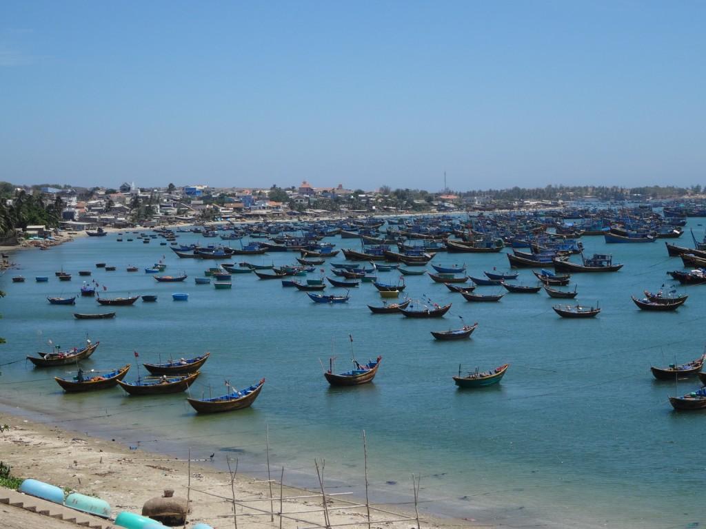 Mui Ne, effectivement un village de pêcheurs