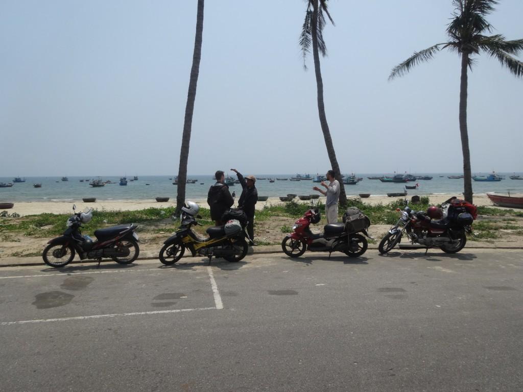Sur la plage à Da Nang