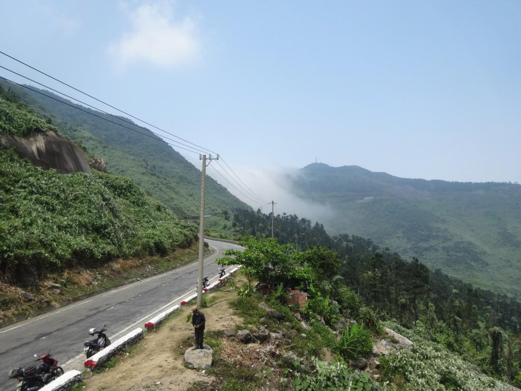 Vers le col de Hai Van