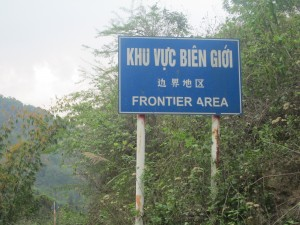 Welcome to the frontier area