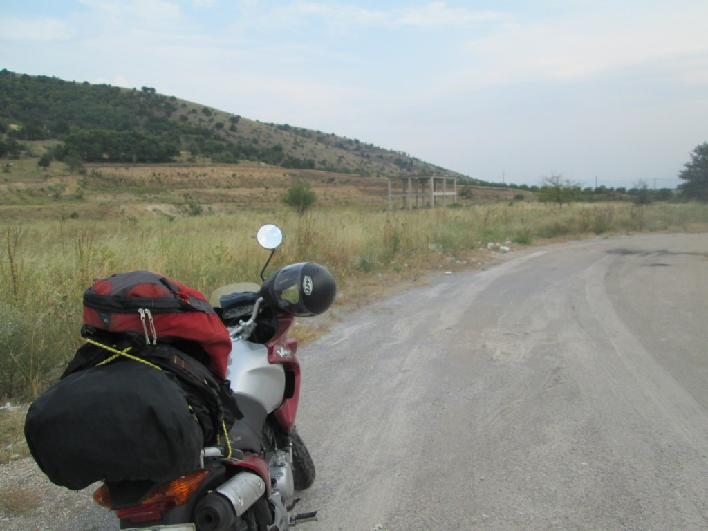 Out on the Greek open road