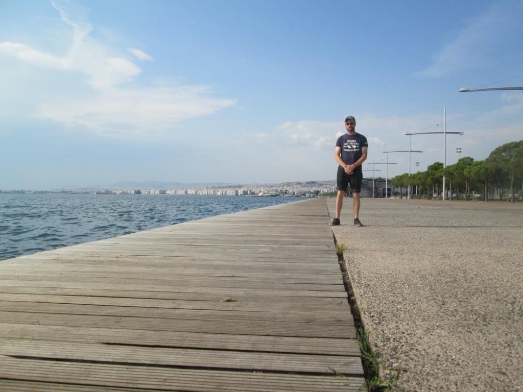 Thessaloniki's seafront park