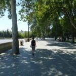 Strolling on the Bulevar