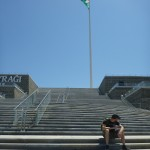Baku's flagpole