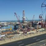 Building oil rigs