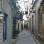 A narrow passage in Baku old town