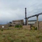 Abandoned plant in Gyumri