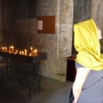 Visiting the Haghartsin monastery