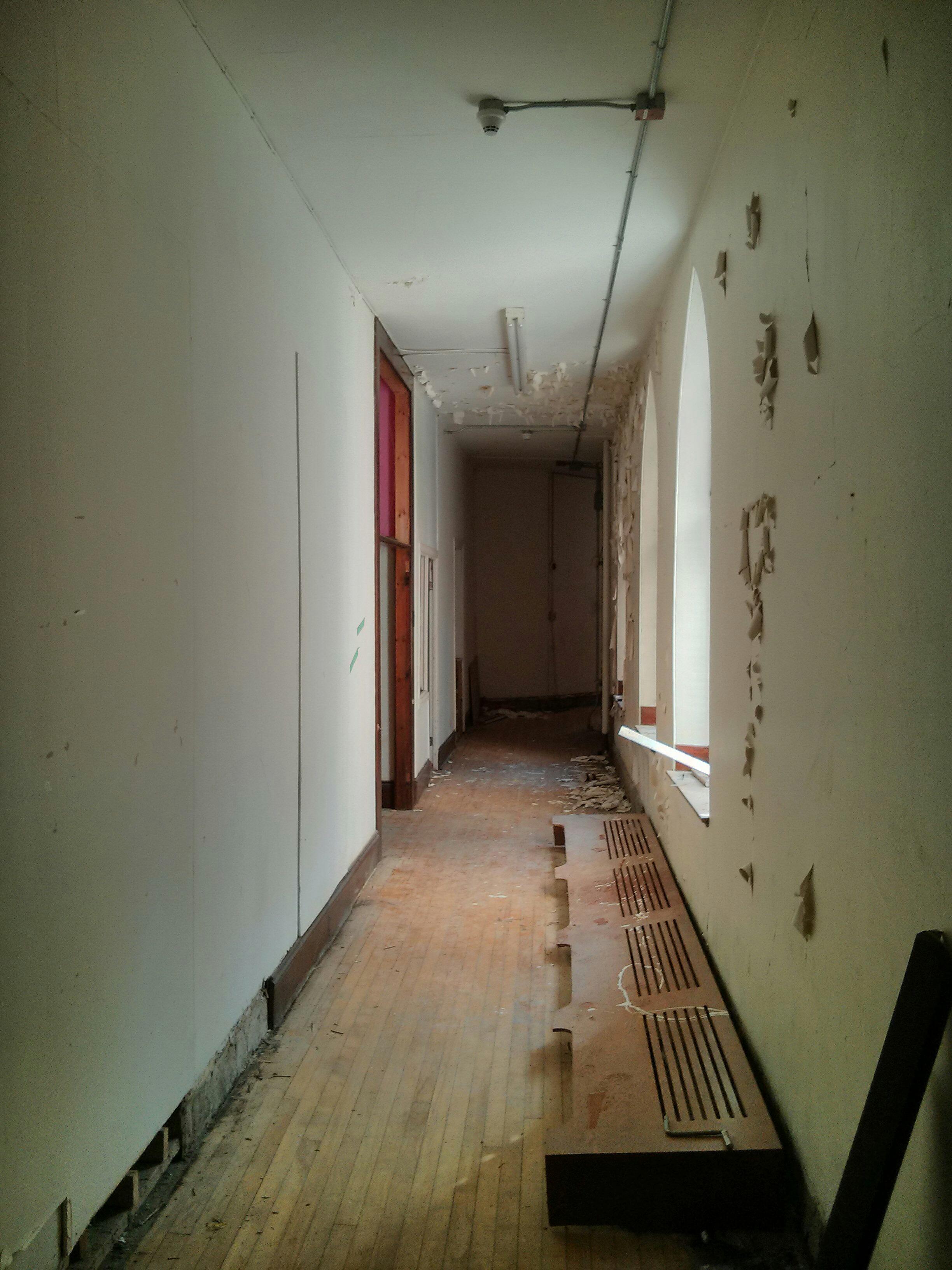 Convent of the Redemptoristines hallway