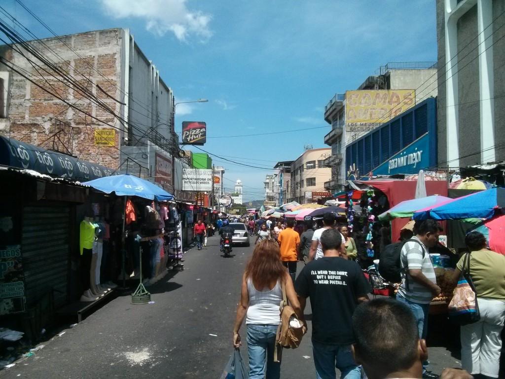 San Salvador's central market