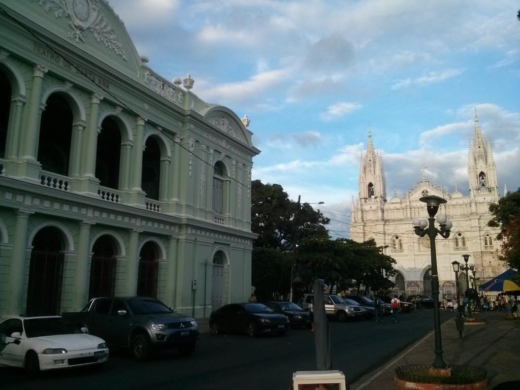Santa Ana's cathedral