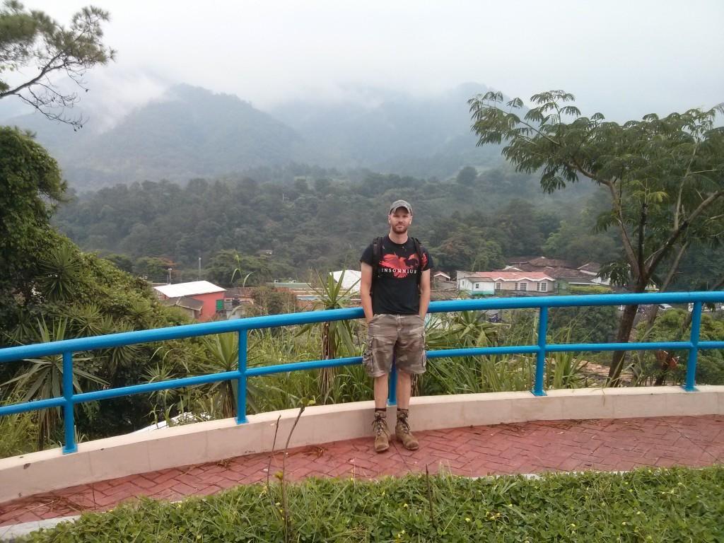 Posing in La Palma, El Salvador