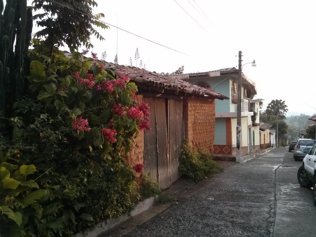 Street in La Palma, El Salvador
