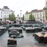 Centre-ville de Ljubjana