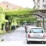 Rue résidentielle de Ljubjana
