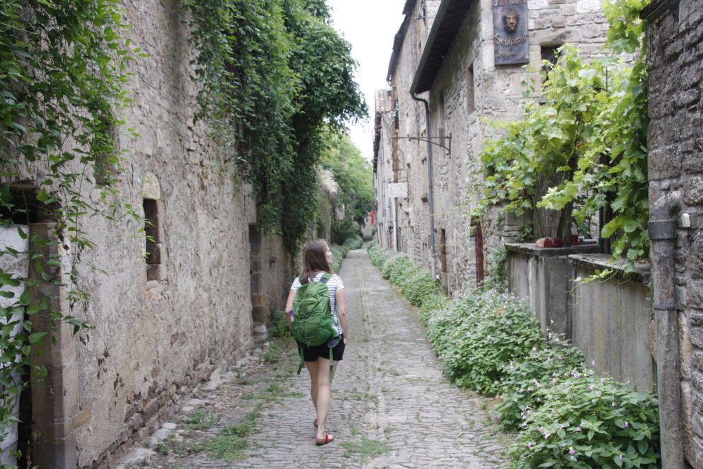 Un ruelle à Cordes-sur-Ciel