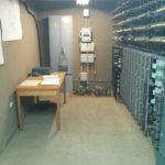 Salle de télécommunications dans le bunker de Tito