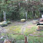 Autos tamponneuses à Pripyat