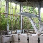 Dans la piscine municipale de Pripyat