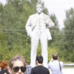 La dernière statue de Lénine encore debout en Ukraine