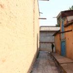 Allé dans la vielle ville d'Istaravshan