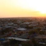 Boukhara au coucher du soleil