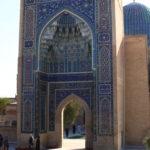 Porte du mausolée de Tamerlane