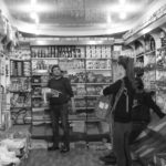 Audrey dans un magasin du bazar