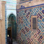 Mur décoré du  Chah-i-Zinda