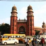 Beau bâtiment à Chennai, Inde