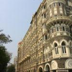 Une des facades de l'hôtel Taj, Mumbai, Inde