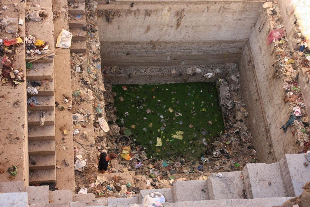 Fond du Nagar Sagar Kund, Bundi, Rajasthan, Inde