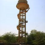 Chateau d'eau, Rajasthan, Inde