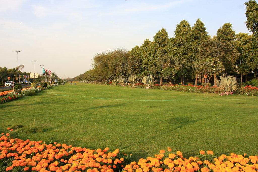 Boulevard de New Delhi, Inde
