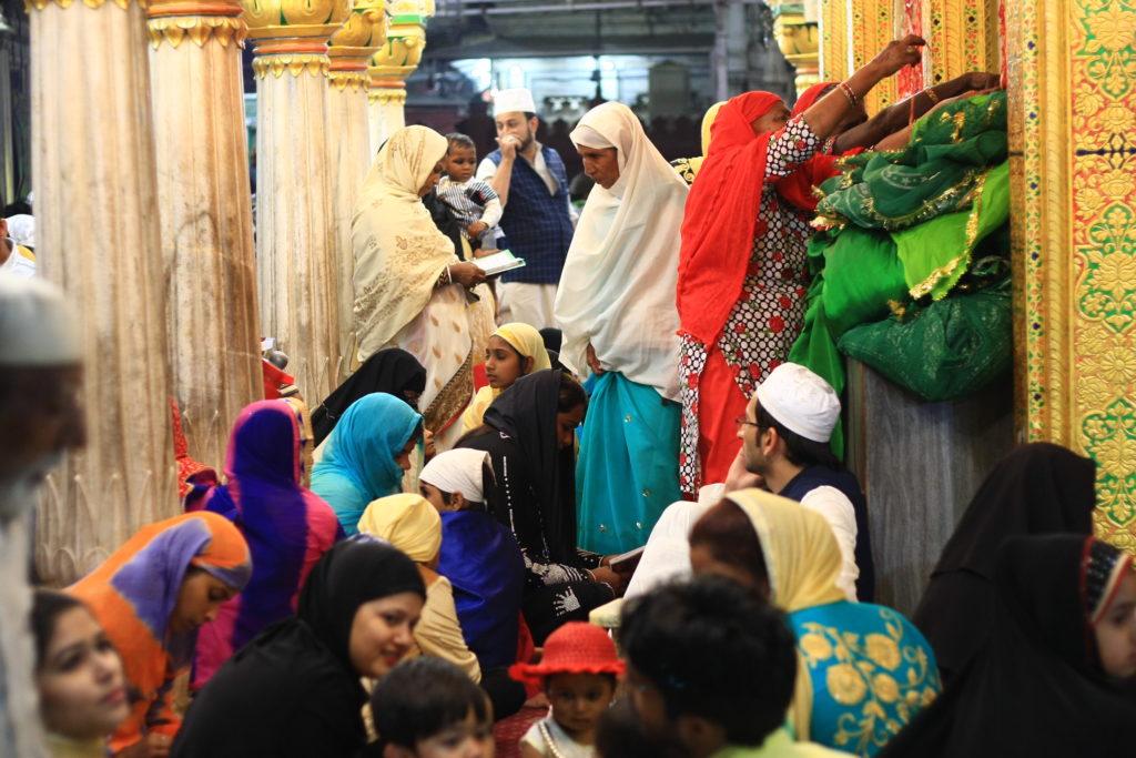Mausolé de Nizamuddin, New Delhi, Inde