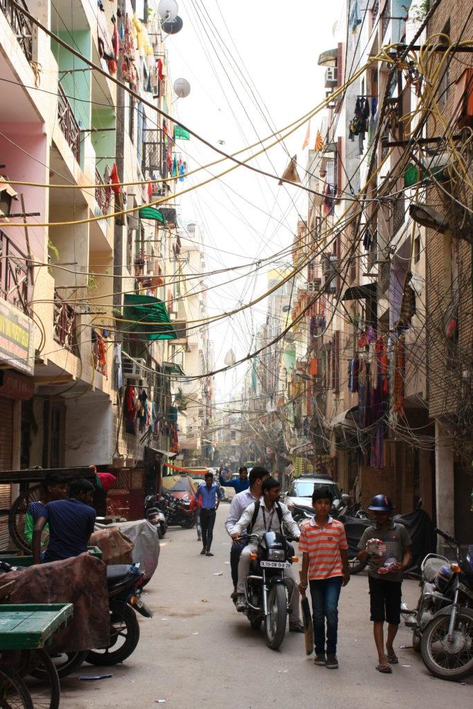 Rue de New Delhi, Inde