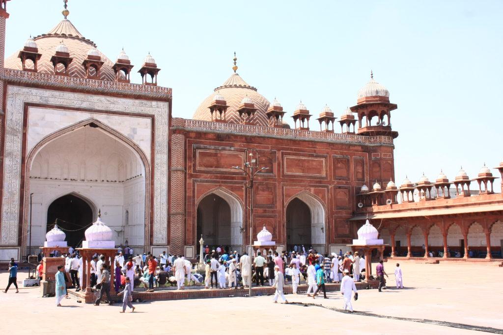 Mosquée à Agra, Inde