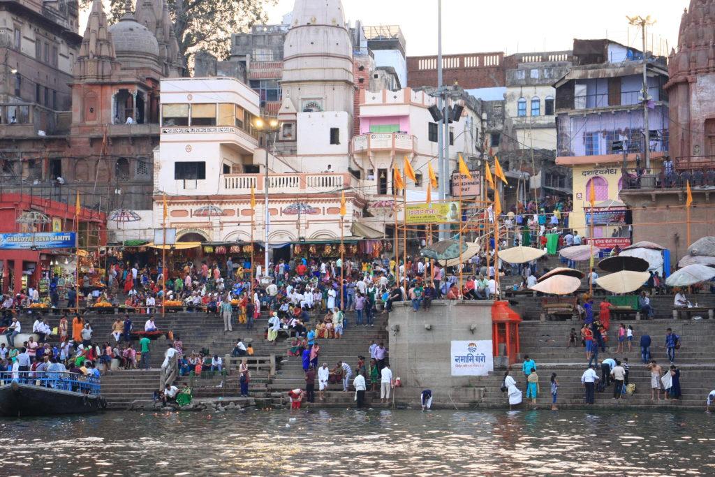 Ghats de Varanasi, Inde