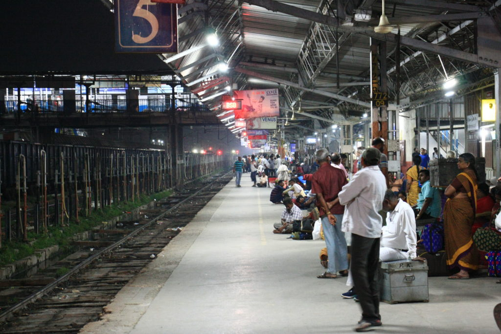 Gare de Varanasi, Inde