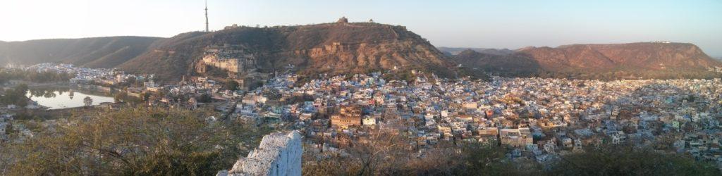 Panorama de Bundi, Rajasthan, Inde