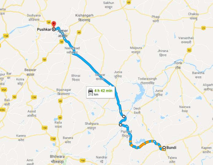 Rajaride, jour 10 – Bundi à Pushkar